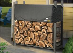 rangement bois de chauffage abri bois