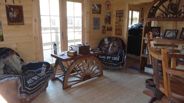 Un Chalet En Bois Brut Livr Cl En Main Transform En Ranch
