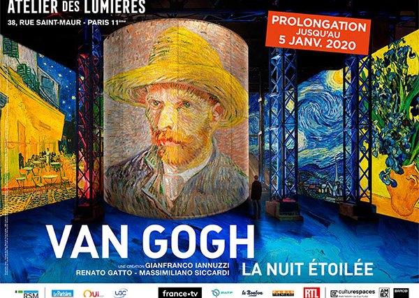 Van Gogh, la nuit étoilée expo