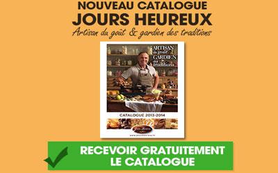 catalogue gourmand jours heureux gratuit echantillons gratuits france