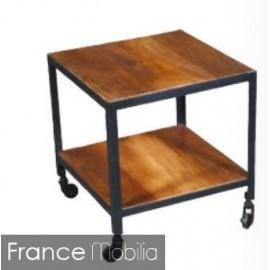 table bout de canape petit meuble pas cher bout de canape sur roulettes en metal