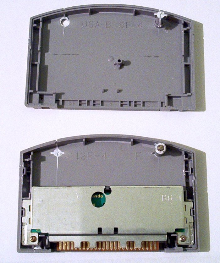 N64 cartridge two sides