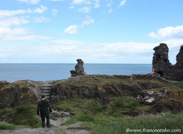 アイルランド 崖