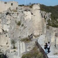 南フランス最も美しい村レ・ボー=ド=プロヴァンスの城