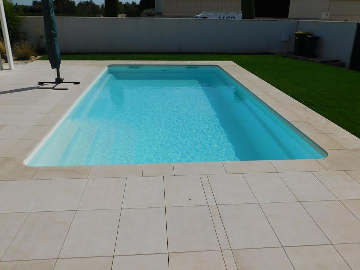 kit complet piscine coque polyester a