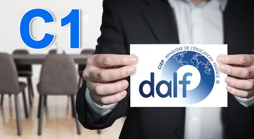 DALF C1 présentation