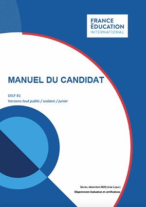 Manuel candidat DELF B1