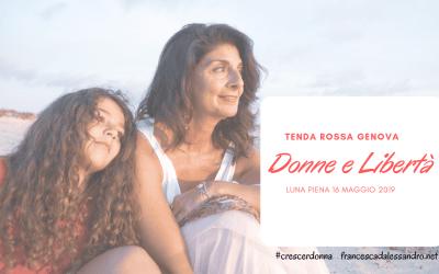 """Tenda Rossa Genova """"Donne e Libertà"""" – 16 maggio 2019"""