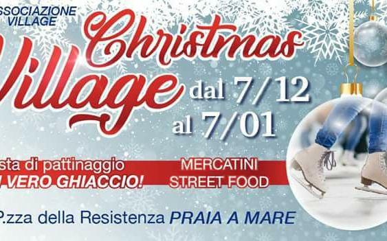 Praia a Mare, un mese di divertimento con il nuovo Christmas Village