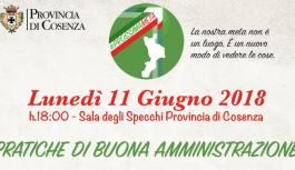 #ProssimaMeta, Graziano Di Natale riparte dalla Sala degli Specchi della Provincia di Cosenza