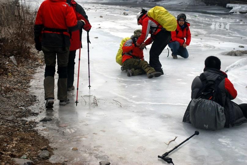 cadute sul ghiaccio