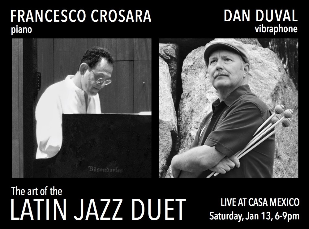 Piano Vibes Duet with Dan Duval – FRANCESCO CROSARA