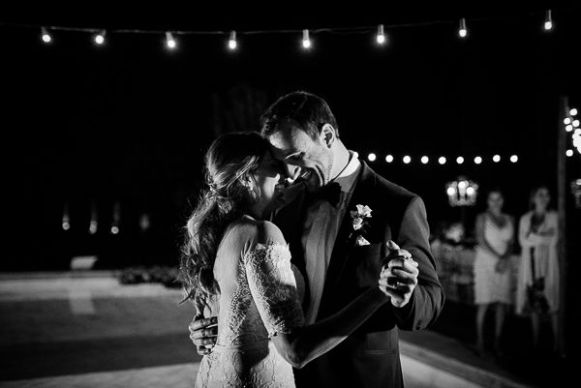 First dance di matrimonio | Matrimonio a Cortona intimate wedding in Tuscany