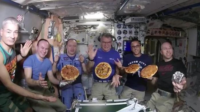 paolo nespoli pizza