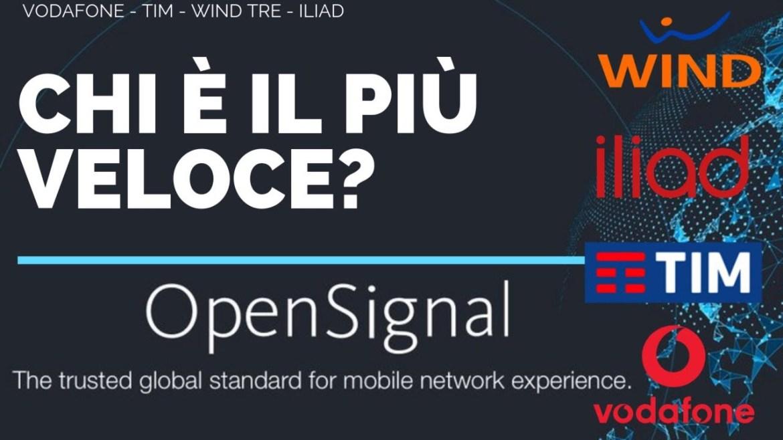 Iliad, Wind, Tim e Vodafone. chi va più veloce? Il rapporto e il tutorial di OpenSignal