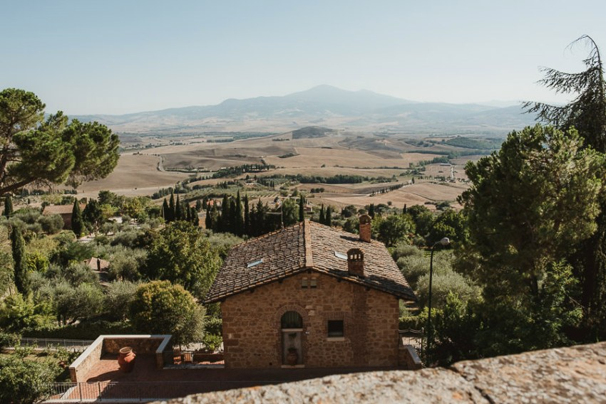 Wedding proposal inspiration Tuscan Landscape