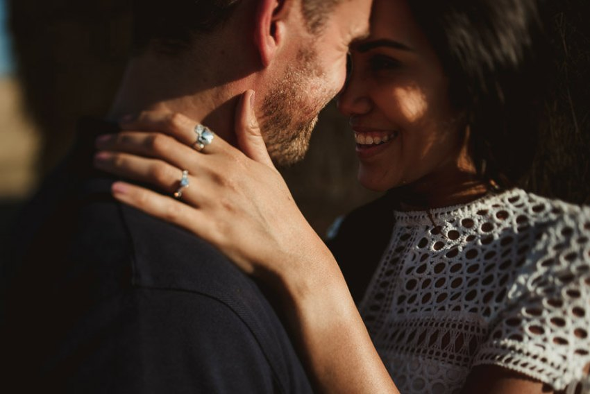 Wedding proposal inspiration candid portrait photography in ital