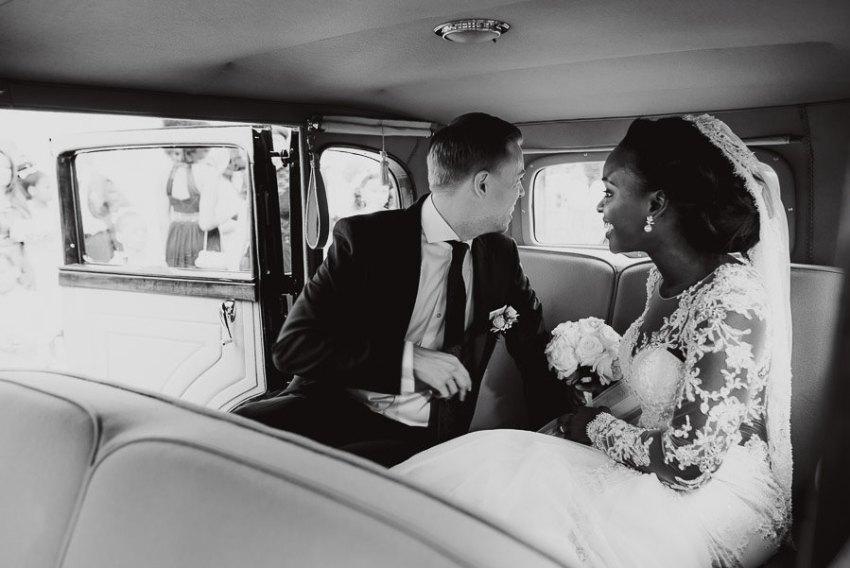 Sirmione Wedding photographer bride groom leaving church