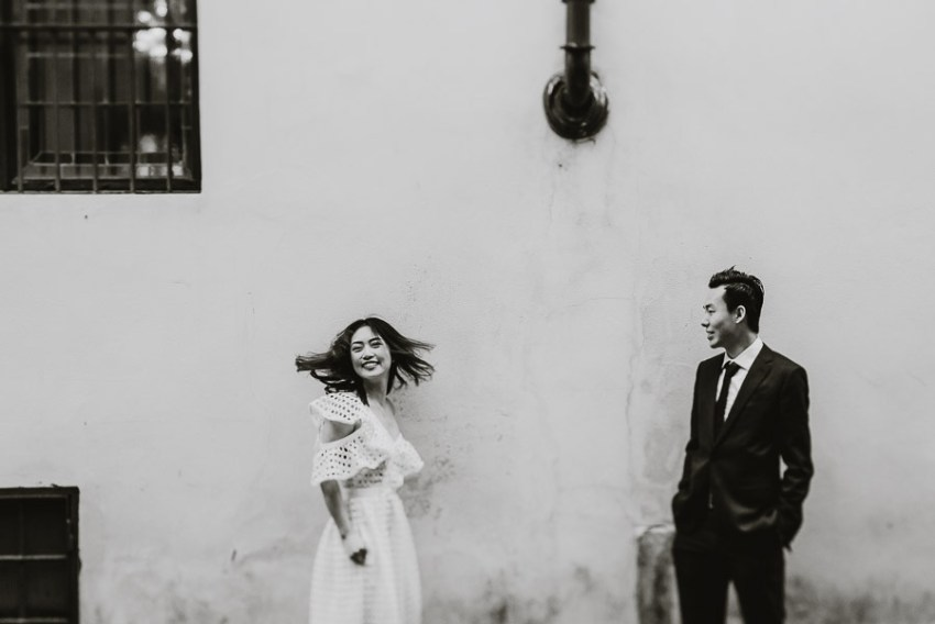 Pre Wedding Photography Italy Tuscany lifestyle couple portrait
