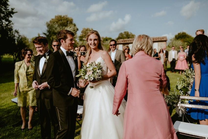 Siena wedding photographer borgo scopeto first look