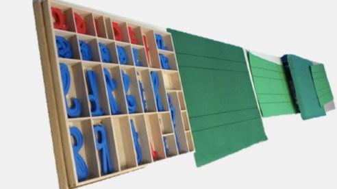 Alfabetario Montessori