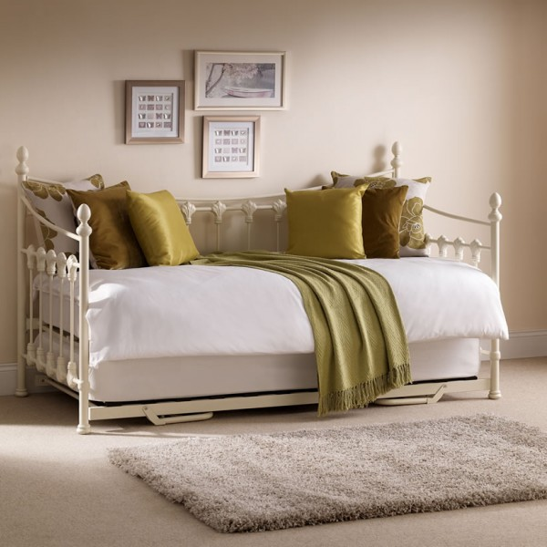Louis 3ft Metal Day Bed Frances Hunt