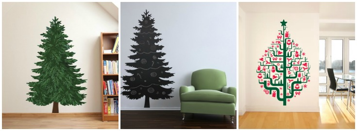 10 Creative Christmas Tree Ideas For Small Spaces