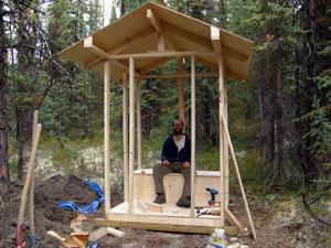 Yukon Log Cabin Construction 6
