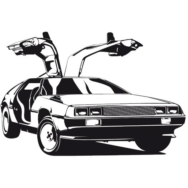 voiture retour vers le futur