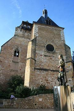 Church of saint Jacques