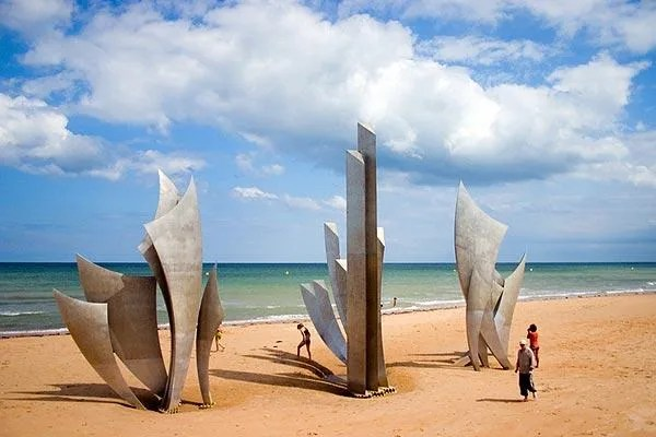 Image result for normandy beach