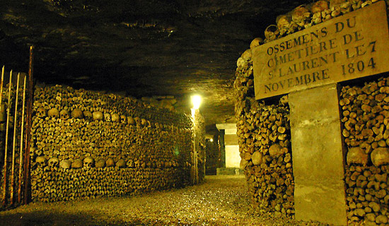 Billets Coupe File Catacombes De Paris