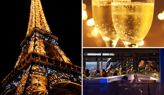 New Year s Eve in Paris   Dinner  show  cruise Dinner at the Eiffel Tower New year Special