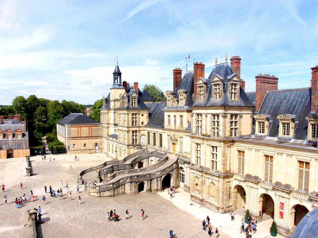 château fontainebleau GR13 section 1
