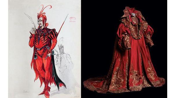 Costumes De Scnes Les Archives Se Dvoilent Dans Un Livre