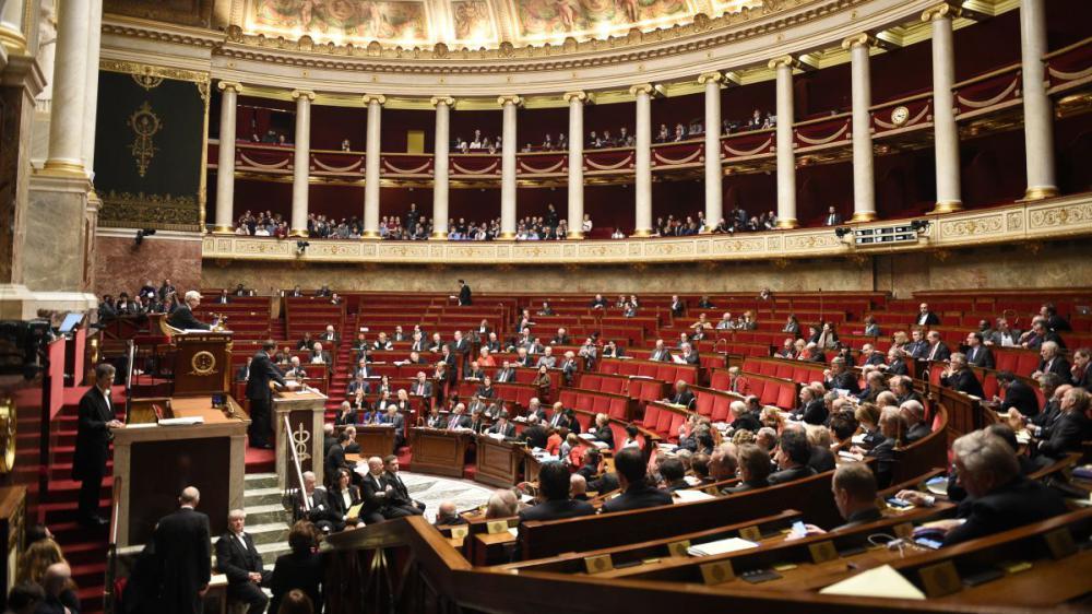 L'Assemblée nationale, à Paris,le 19 février 2015.