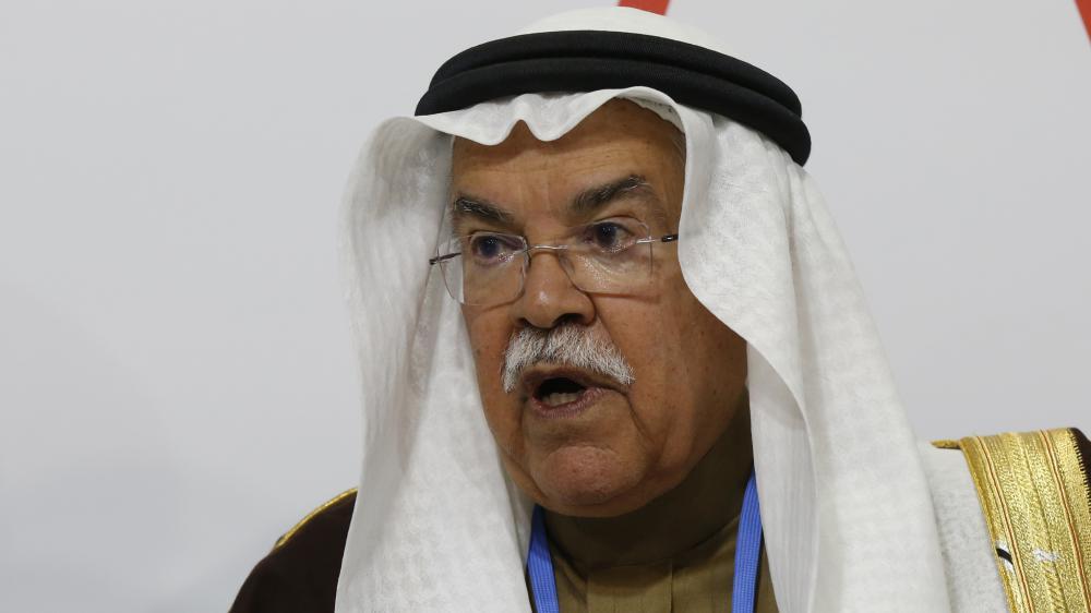 Leministre du pétrole saoudien, Ali Al-Naimi, au Bourget (Seine-Saint-Denis) pour la COP21, mardi 8 décembre 2015.
