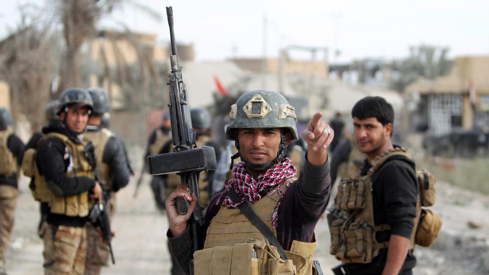Un soldat irakien, le 27 décembre 2015 à Ramadi (Irak).