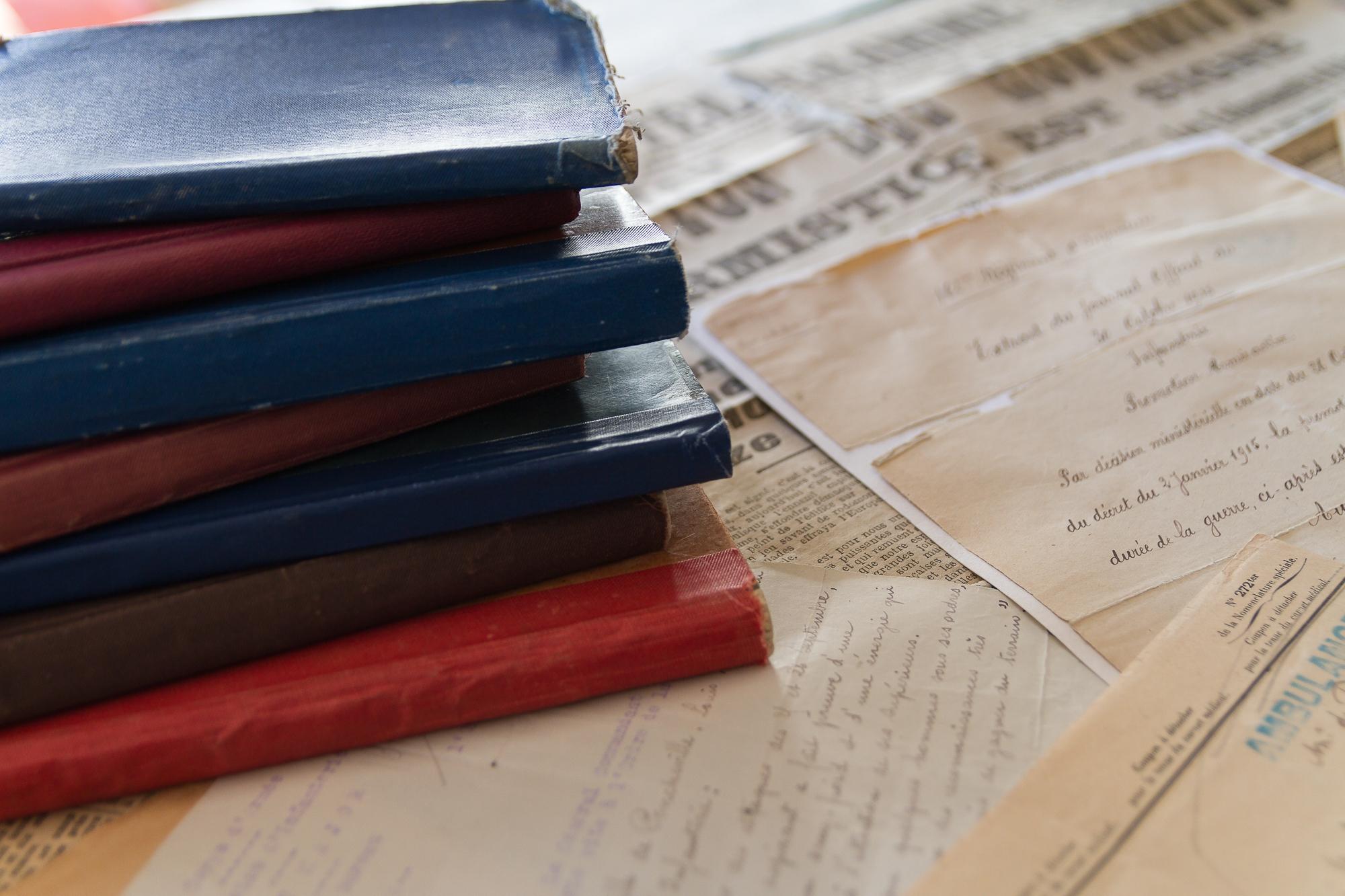 Les carnets de Louis Mabille de Poncheville.
