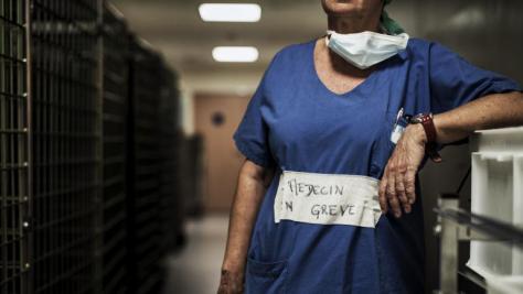 la santé en grève à Nantes