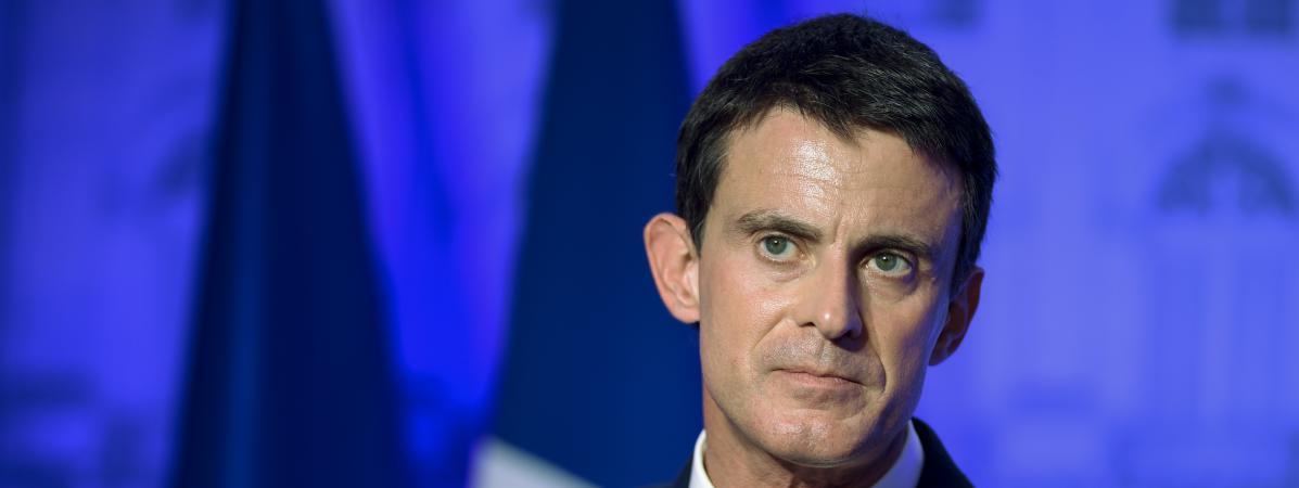 Le Premier ministre, Manuel Valls, lors d\'un discours à la préfecture de Meurthe-et-Moselle, le 2 décembre 2016.