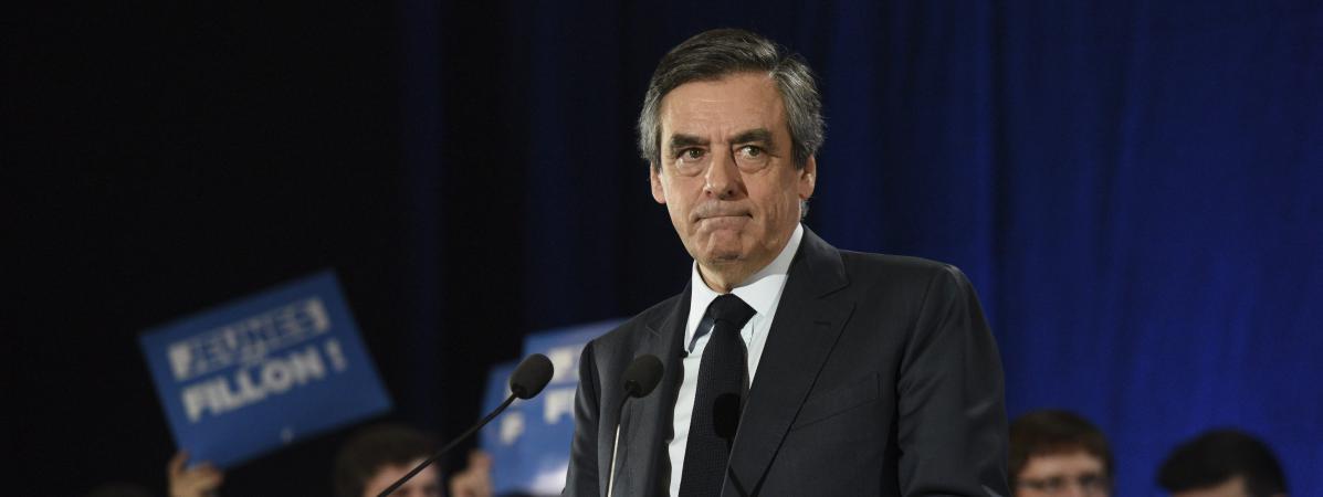 François Fillon, lors de son meeting à Charleville-Mézières, le 3 février 2017.