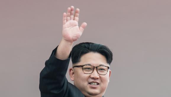 Kim Jong-un, président de la Corée du Nord à Pyongyang, le 10 mai 2016.