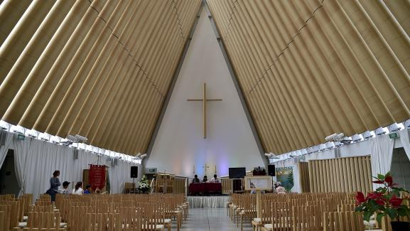 Shigeru Ban - Cathédrale Christchurch (Nouvelle Zélande)