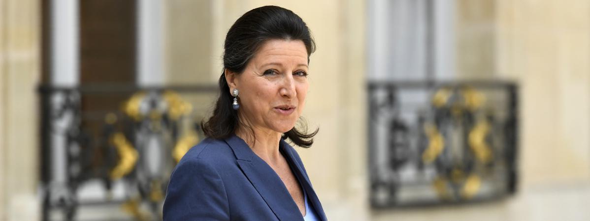 La ministre de la Santé, Agnès Buzyn, le 7 juin 2017 à la sortie de l\'Elysée, à Paris.