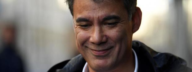 Olivier Faurea annoncéêtre candidat à la tête du Parti socialiste, le 9 janvier 2018.