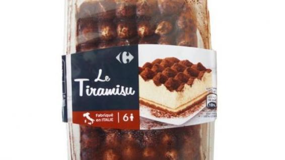 Les Tiramisu de la marque Carrefour.