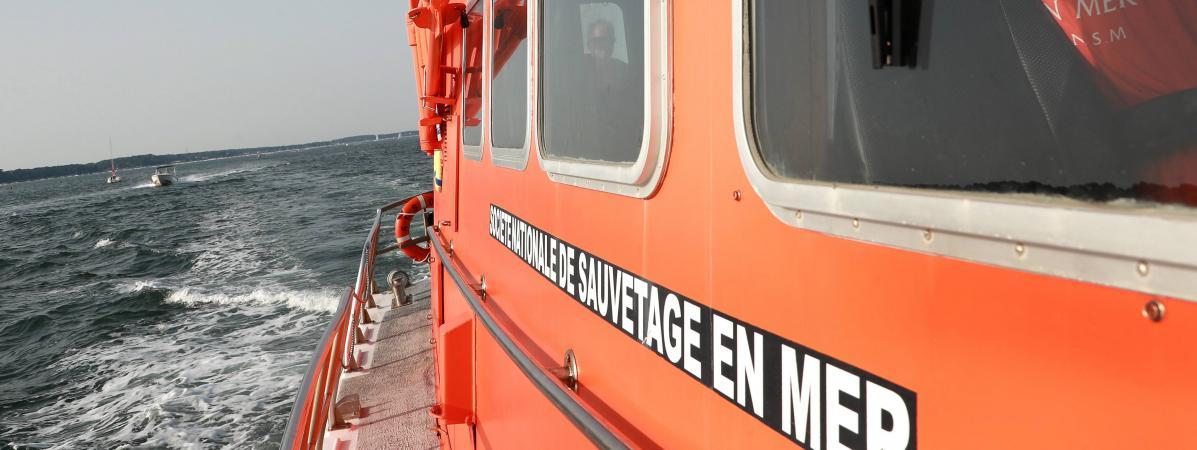 Les sauveteurs en mer de Port-en-Bessin (Normandie) doivent remplacer leur vedette par un bateau plus grand et plus puissant(photo d\'illustration).