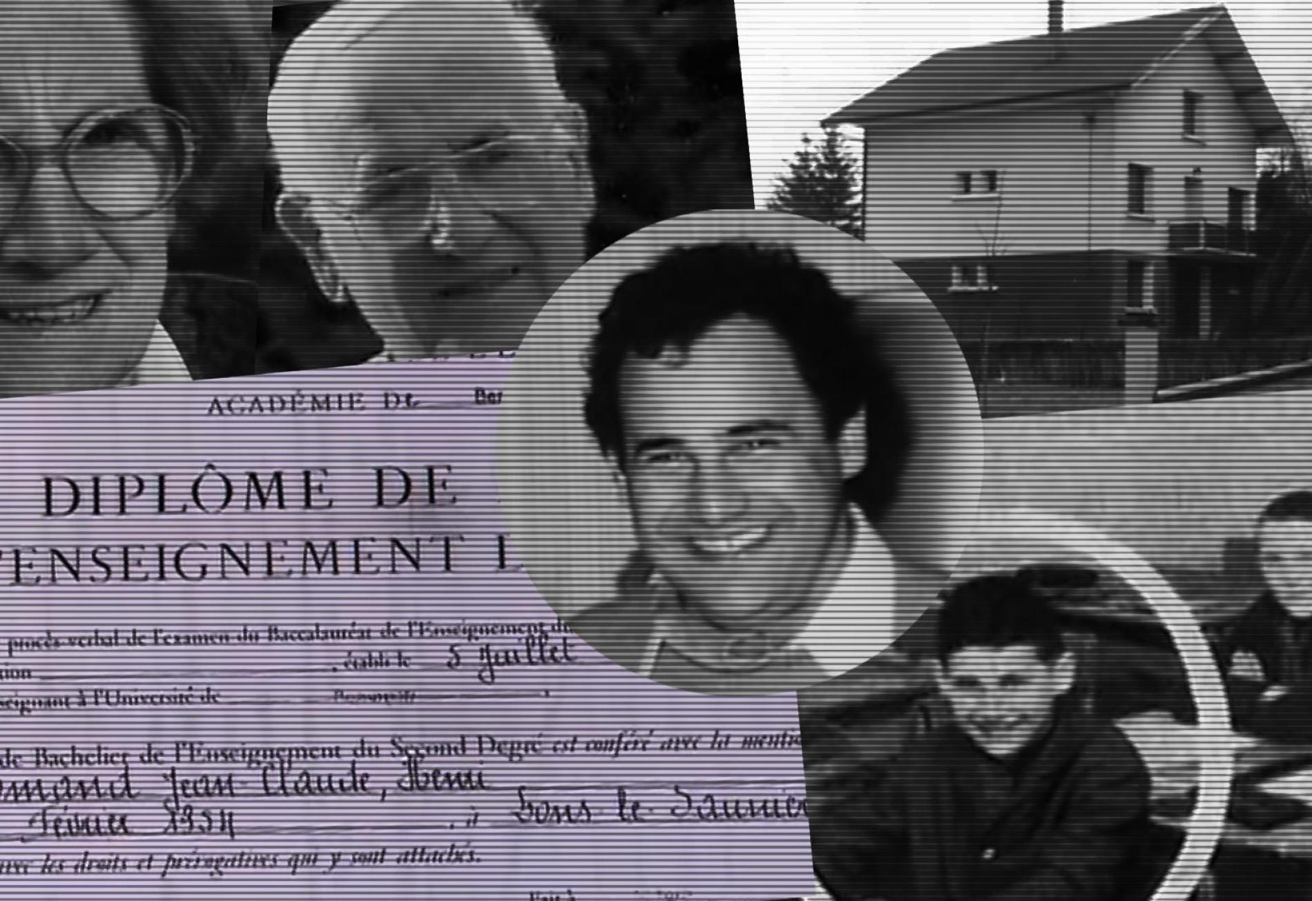 L\'enfance de Jean-Claude Romand se déroule sans histoire à Clairvaux-les-Lacs (Jura). Bon élève, il est couvé par ses parents, Aimé et Anne-Marie.