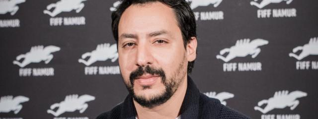 Le cinéaste tunisien Mehdi Barsaoui au Festival international du film francophone de Namur (du 28 septembre au 4 octobre 2019), en Belgique.